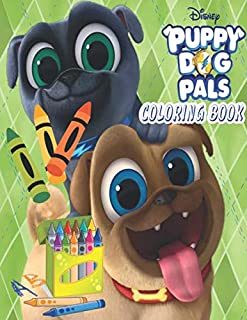 Puppy Dog Pals Coloring Book: Ultimate Color Wonder Puppy Dog Pals Coloring Book Pages & Markers, Mess Free Coloring, Wonderful Gift for Kids And Adults