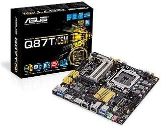 ASUS Mini ITX DDR3 1600 LGA 1150 Motherboard Q87T/CSM