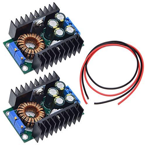Youmile 2Pack XL4016 Step-Down Abwärtswandler Einstellbares 5-40V bis 1,2-35V-Stromversorgungsmodul für Arduino mit 24AWG Kabel