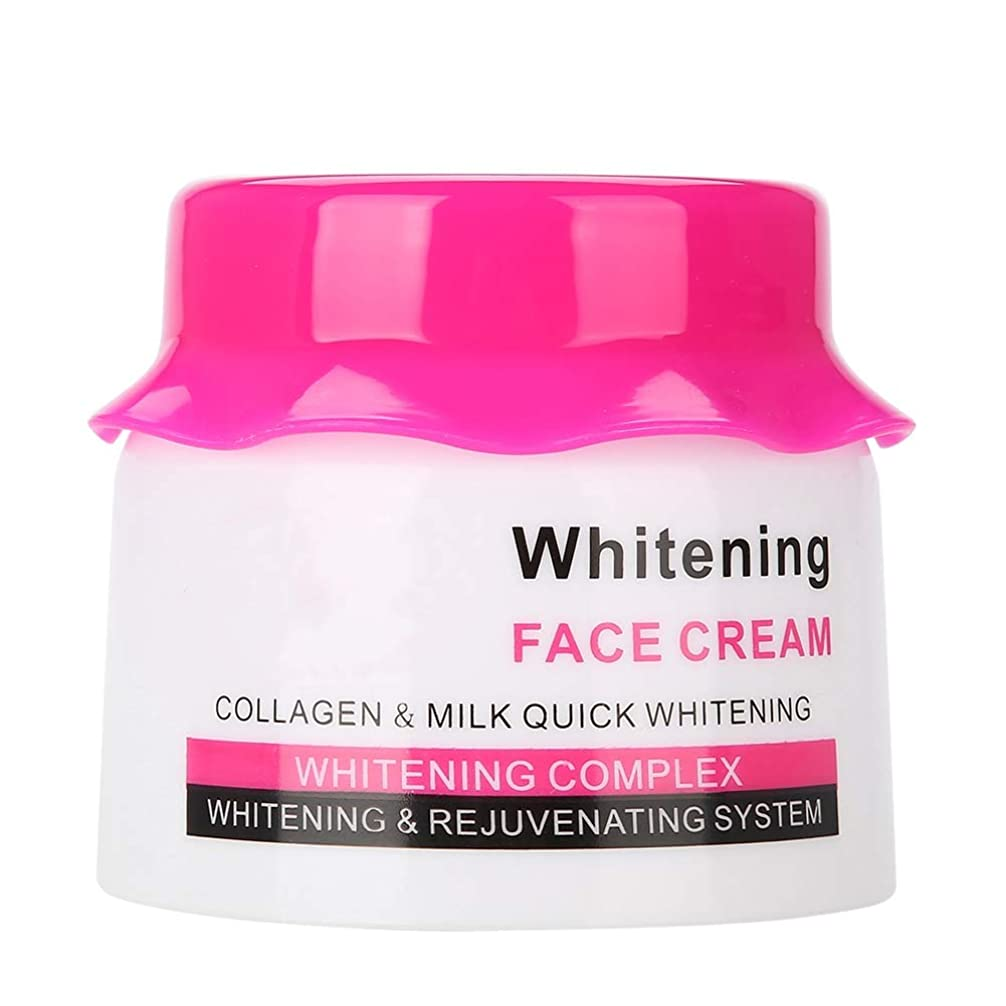 まつげ意見レギュラー天然コラーゲン、肌のリラクゼーションと引き締まった肌の多機能、保湿引き締めフェイシャルシュリンクポアケア肌を白くするフェイシャルクリーム
