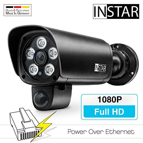 Instar IN-9008 Full HD PoE black IP-Kamera, Infrarotkamera