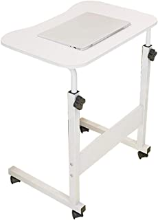 NYJS Laptop Table, Adjustable Lift Computer Workstation, It Can Move Portable Bedside Sofa Wooden