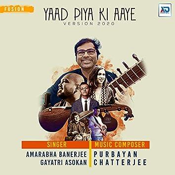 Yaad Piya Ki Aaye
