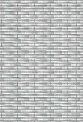 Friedola Bodenbelag Sympa Nova Premium Weichschaum Badematte Matte Rattan grau 130 breit Meterware