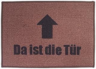 acerto 30103 Felpudo Premium DA ist Die TÜR Colchoneta para atrapar Suciedad 70x50cm * Extremadamente Durable * Exterior e...