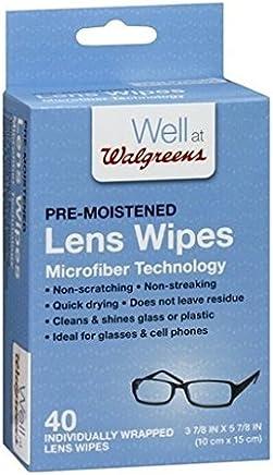 24f5953573c4 Walgreens Lens Wipes Micro Fiber 40 ea(pack of 2)