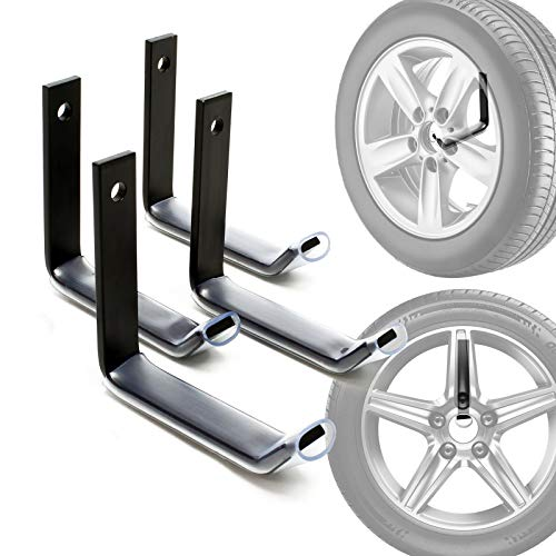 Reifenhalter Wandhalterung für 4 Reifen Zubehör für Reifen Reifenregal Felgenbaum