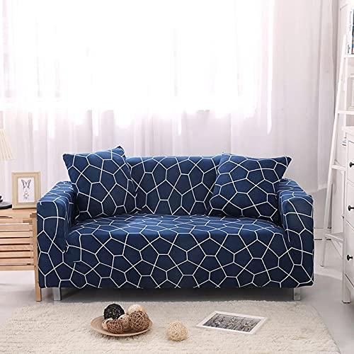 Funda de sofá elástica para sillón, Funda de sofá de poliéster Ultrafina para Sala de Estar, Funda de sofá Universal A7, 1 Plaza
