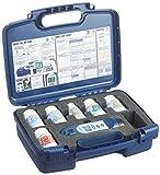 Exact iDip 525 Pool Starterkit-Fotometer Set fürSchwimmbäder und Pools Instrumento de medición, Azul, 30.0x24.0x8.0 cm