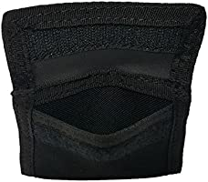 LINE2design Latex Glove Pouch Black - Police - Firefighter - EMS - EMT - Paramedic Medical Glove Holder