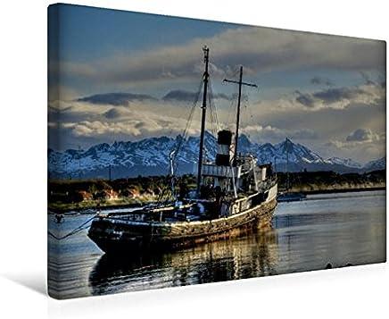 Calvendo Trappola navale della Saint Christopher nel Porto di Ushuaia, 45x30 cm