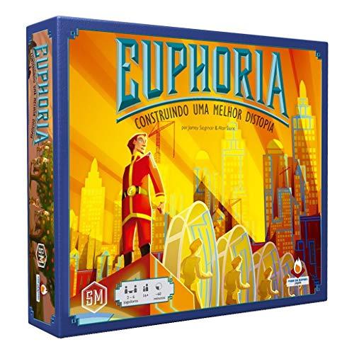 Euphoria Construindo uma Melhor Distopia Jogo de Tabuleiro Fire on Board FOBEUP