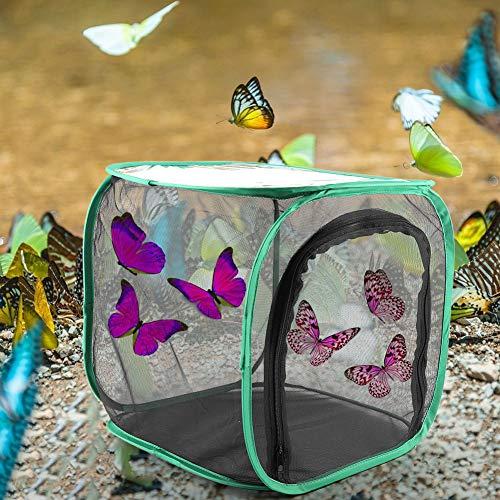 CUEA Belüfteter Zuchtkäfig, praktischer belüfteter, langlebiger Zuchtkäfig, tragbar für Insekten und Tierhalter