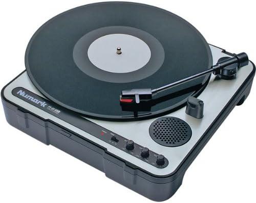 Numark PT-01USB Portable Vinyl-Archiving Bundle Turntable USB Max 80% OFF Max 78% OFF