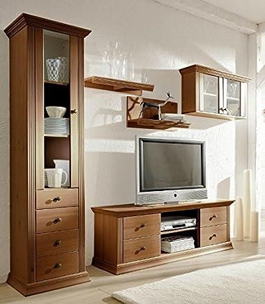 Amazon.it: mobili soggiorno classico - Pareti attrezzate ...