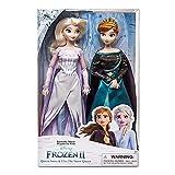PQWE 2Pcs 33Cm Frozen 2 Elsa and Anna Princess Dolls Leksaker, Olfa Sets Girl'S Model Collection Dolls Kids Presents with Box