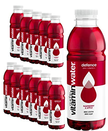 Glaceau Vitamin Water - 12 Pack x 500ml - Power-C Raspberry Apple