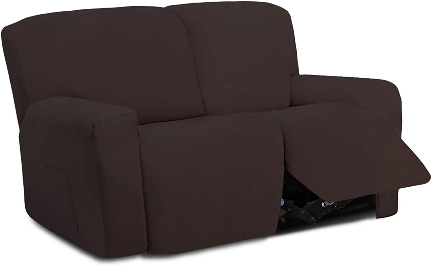 Easy-Going 6 Pieces Microfiber Ranking TOP17 Stretch Sofa Recliner Regular store S Sectional