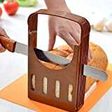 CucinaGood Bread Cut Loaf Toast Slicer Cutter Slicing Guide Kitchen Tool
