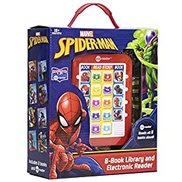 Marvel – Spider-man Me Reader Electronic Reader and 8 Sound Book Library – PI Kids