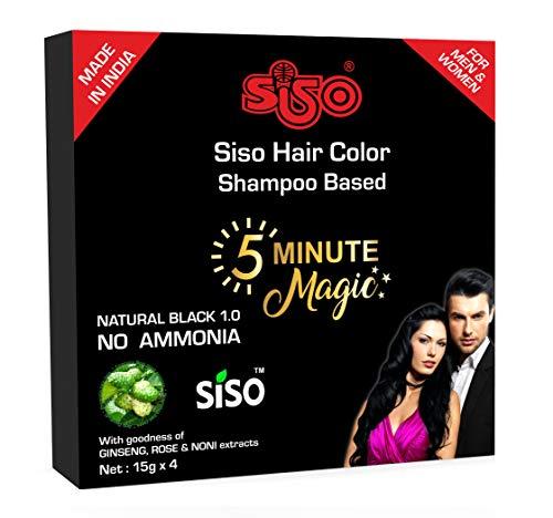 Siso 5 Minute Magic Hair Color 15ml (Pack of 8)