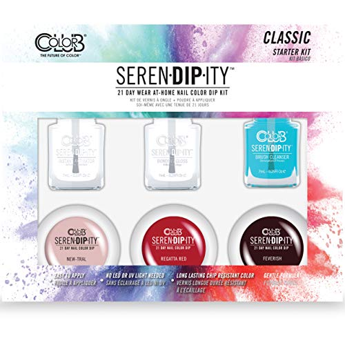 Color Club 21 Day Classic Serendipity Starter Kit for Nail Dip Powder