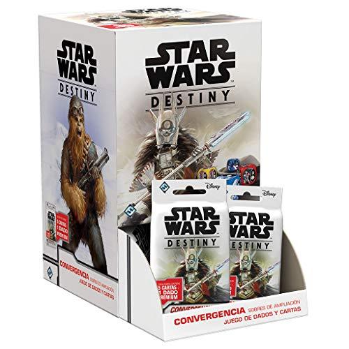 Fantasy Flight Games- Star Wars Destiny - Convergencia Expositor de Sobres de Ampliación (36) - Español, Color (SWD16ES) , color/modelo surtido