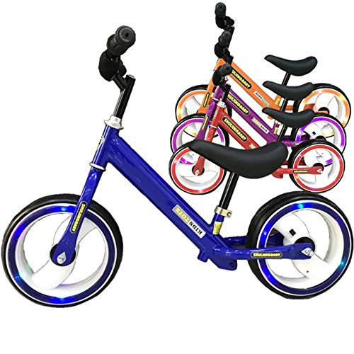 And the Fact That Children Foot Self-Balancing Vehicle, Scooter, Walker, Children's Competition Two Flash Car Baby Gift
