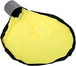 Blesiya Portable Kids Toys Storage Basket Bag with 150cm Drawstring Play Mat, Fast Clean Up - Yellow