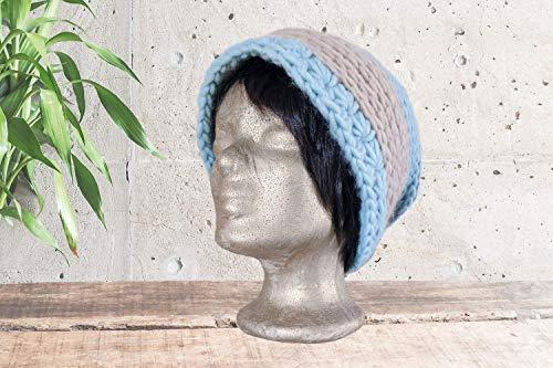 Schurwoll-Mütze | Beanie | Unisex | Handmade