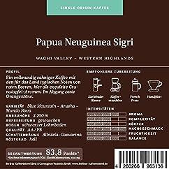 Berliner Kaffeerösterei Papua Neuguinea Sigri
