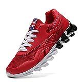 Lankfun Scarpe Sportive,Scarpe da Uomo in Esecuzione Scarpe Casual Scarpe Sportive-Big Red_47,Scarpe da Running Uomo