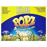 Popz Burro Di Popcorn A Microonde 6 X 90g