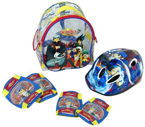 Beyblade – Set de Casque + Protections (Saica Toys 8765)