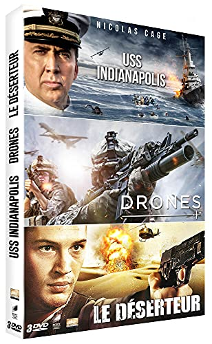 Coffret : USS Indianapolis + Drones + Le Déserteur [Francia] [DVD]
