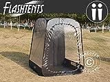 Dancover Zuschauer-Faltzelt Faltpavillon Wasserdicht, FlashTents®, 2 Personen, Schwarz