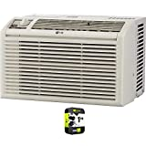 LG LW5016 5000 BTU Window Air Conditioner with Manual Controls Bundle with 1 Year Extended Protection Plan