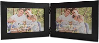 Giftgarden Hinged Picture Frame 3.5x5 Double Photo Frames Horizontal Display 5x3.5 Inch Photograph
