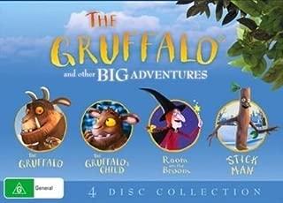 The Gruffalo / Gruffalo's Child / Room on Broom / Stick Man   NON-USA Format   PAL   Region 4 Import - Australia