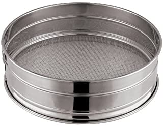 depth: 4 inches 1//2 Paderno World Cuisine 12 1//2 inches by 10 1//2 inches Stainless-steel Hotel Pan with Retractable Handles