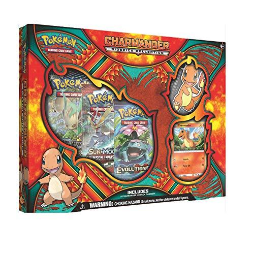 Pokémon TCG: Charmander Sidekick Collection Box, Multicolor
