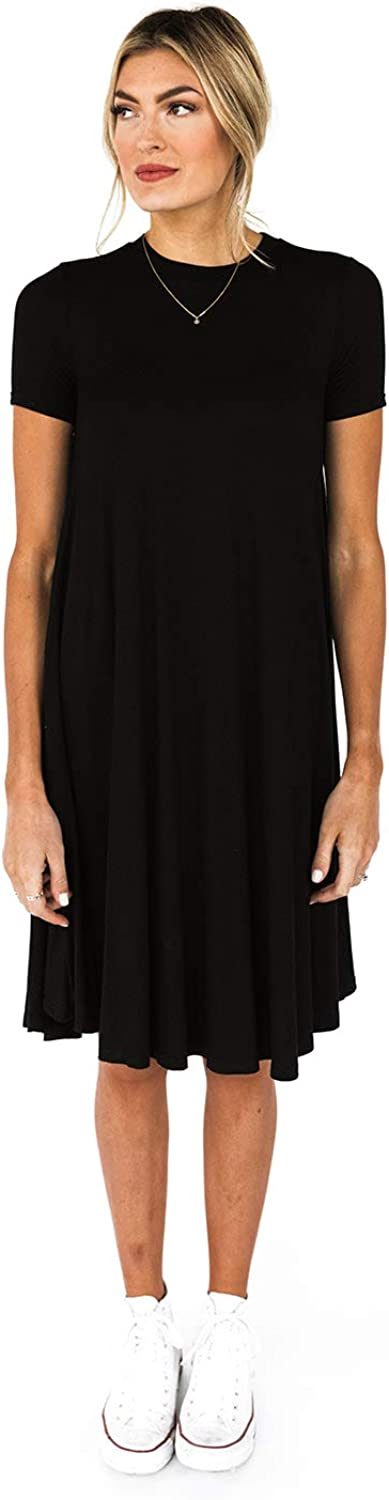 Roolee The Easy Dress, Casual Dresses for Women, Tshirt Dress