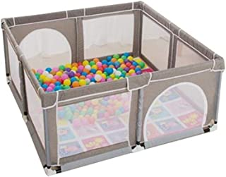 8 Panel Baby Guardrail Crawling Mat Infant Toddler Ball Pool Marine Ball Toy House for Indoor Outdoor is Sturdy Durable Su...