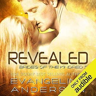 Revealed audiobook cover art
