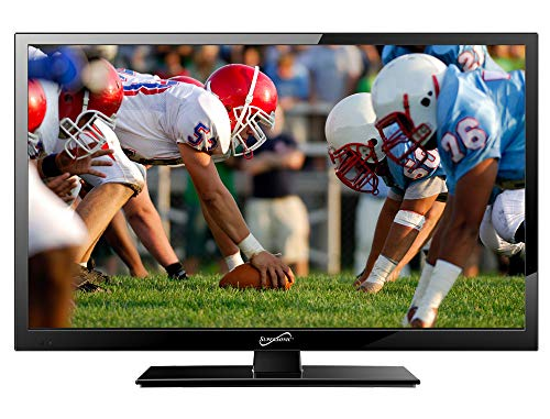 SuperSonic SC-2211H LED Widescreen HDTV 22' Flat Screen with USB Compatibility, SD Card Reader, HDMI & AC/DC Input: Built-in Digital Noise Reduction with HDMI Cable Included (2019 Model)