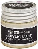 Prima Marketing Finnabair Arte Alchemy acrílico Pintura 1.7Fluid Ounces-Opal Magic Yellowith Azul, Otros, Multicolor