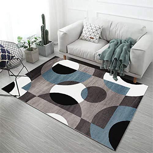 Alfombras De Habitacion Redondas Azules alfombras de habitacion  Marca RUGMRZ
