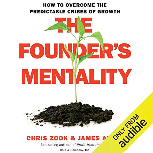 Page de couverture de The Founder's Mentality