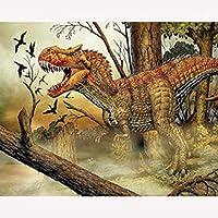 2000ピース木製パズル-無敵のティラノサウルスレックスパズル2000ピース
