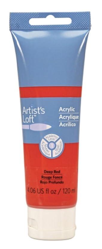 Artist's Loft Acrylic Paint, 4 oz (Deep Red)